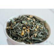 Зеленый Китайский чай Генмайча