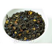 Черный ароматизированный чай Изысканный бергамот