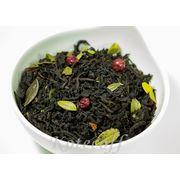Черный чай ароматизированный Ягодный коктейль