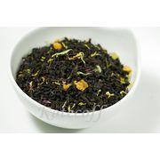 Черный ароматизированный чай Ночь царицы