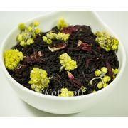 Черный ароматизированный чай Весенняя свежесть