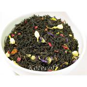 Черный ароматизированный чай Ожерелье королевы