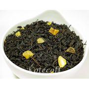 Черный ароматизированный чай Фрукты тропиков