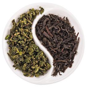 Черно-зеленый чай