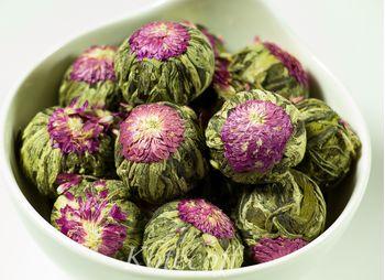 Связанный зеленый чай Юй Лун Тао (Персик Дракона)