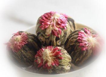 Связанный чай Связка-цветок со сливочным вкусом