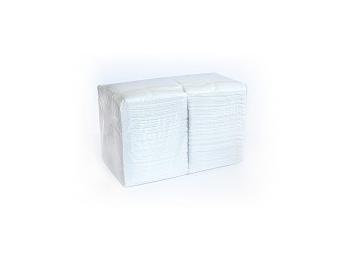 """Салфетки бумажные белые 24х24 """"BigPack""""  400 шт"""