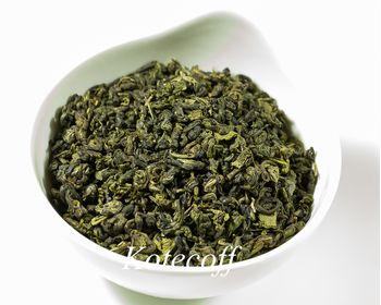 Зеленый Китайский чай Ганпаудер Молочный