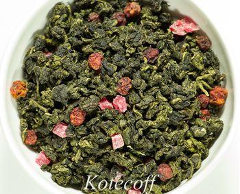Чай Улун Малина с травами