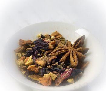 Фруктовый чай Глинтвейн