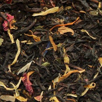 Зеленый чай с шиповником